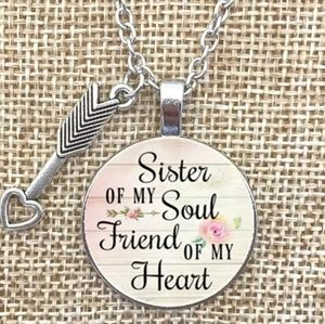 🌸4/$25🌸 New Sister Of My Soul Necklace